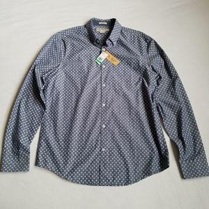 Nwt Original Penguin button down shirt slim fit L